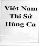 Ebook Việt Nam thi sử hùng ca (Thơ) - Mặc Giang