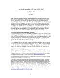 Câu chuyện lạm phát ở Việt Nam: 2004 - 2005