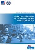 Báo cáo hội thảo: Quản lý và vận hành hệ thống giao thông công cộng Hà Nội