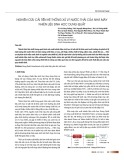 Nghiên cứu cải tiến hệ thống xử lý nước thải của nhà máy nhiên liệu sinh học Dung Quất