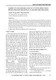 Nghiên cứu so sánh khả năng xử lý nước rỉ rác bằng phương pháp oxy hóa bằng O3 và oxy hóa tiên tiến (AOPs)