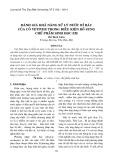 Đánh giá khả năng xử lý nước rỉ rác của cỏ Vetiver trong điều kiện bổ sung chế phẩm sinh học EM