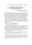 Một số đặc trưng hóa sinh và khả năng kháng khuẩn của dịch chiết quả nhàu (Morinda citrifolia L.)