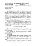 Đề thi HK 1 môn Ngữ văn lớp 12 năm 2016 - THPT Chuyên Nguyễn Đình Chiểu