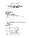 Đề thi tốt nghiệp cao đẳng nghề khoá II (năm 2008 - 2011) nghề Quản trị cơ sở dữ liệu môn thi lý thuyết nghề - Mã đề thi: QTCSDL-LT33