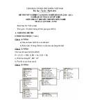 Đề thi tốt nghiệp cao đẳng nghề khoá II (năm 2008 - 2011) nghề Quản trị cơ sở dữ liệu môn thi lý thuyết nghề - Mã đề thi: QTCSDL-LT28