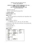 Đề thi tốt nghiệp cao đẳng nghề khoá II (năm 2008 - 2011) nghề Quản trị cơ sở dữ liệu môn thi lý thuyết nghề - Mã đề thi: QTCSDL-LT29
