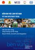 Báo cáo kết quả Diễn đàn việc làm Việt Nam