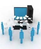 Ứng dụng công nghệ thông tin và thương mại điện tử trong doanh nghiệp: phần 1