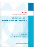 báo cáo thường niên doanh nghiệp việt nam 2015: phần 1