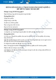 Giải bài Sắp xếp và trang trí nhà bếp SGK Công nghệ 9 Quyển 2