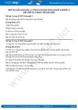 Hướng dẫn giải bài 1,2 trang 20 SGK Công nghệ 9 Quyển 2