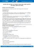 Hướng dẫn giải bài 1,2,3 trang 43 SGK Công nghệ 9 Quyển 3
