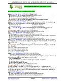 Tài liệu luyện thi CĐ-ĐH: Este - Lipit