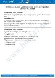Hướng dẫn giải bài 1,2 trang 11 SGK Công nghệ 9 Quyển 5