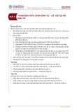 Bài giảng Bài 6: Thẩm định khía cạnh kinh tế - xã hội dự án đầu tư