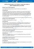 Giải bài Khảo nghiệm giống cây trồng SGK Công nghệ 10