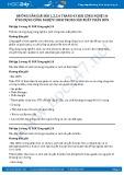 Giải bài Ứng dụng công nghệ vi sinh trong sản xuất phân bón SGK Công nghệ 10