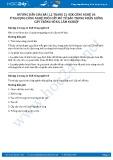Hướng dẫn giải bài 1,2 trang 21 SGK Công nghệ 10