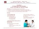 Bài giảng Tiền lâm sàng về kỹ năng lâm sàng - Chương 2: Kỹ năng giao tiếp, hỏi bệnh và khai thác bệnh sử tiền sử cơ bản