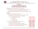 Bài giảng Tiền lâm sàng về kỹ năng lâm sàng - Chương 6: Kỹ năng hỏi khám lâm sàng và các thủ thuật cơ bản về tiêu hóa