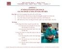 Bài giảng Tiền lâm sàng về kỹ năng lâm sàng - Chương 7: Kỹ năng hỏi khám lâm sàng và các thủ thuật cơ bản về thận - tiết niệu