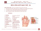 Bài giảng Bệnh lý học: Bệnh viêm khớp dạng thấp - RA