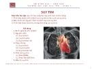 Bài giảng Bệnh lý học: Suy tim - ThS. BS Nguyễn Phúc Học