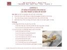 Bài giảng Tiền lâm sàng về kỹ năng lâm sàng - Chương 5: Kỹ năng hỏi khám lâm sàng và các thủ thuật cơ bản về hô hấp