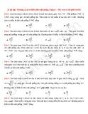 20 Bài tập Khoảng cách từ điểm đến mặt phẳng (Dạng 1)