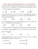 18 Bài tập Khoảng cách từ điểm đến mặt phẳng (Dạng 3)