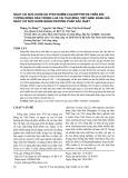 Nguy cơ sức khỏe do phơi nhiễm Chlorpyrifos trên đối tượng nông dân trồng lúa tại Thái Bình, Việt Nam: Đánh giá nguy cơ sức khỏe bằng phương pháp xác suất