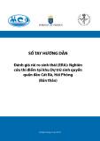 Sổ tay hướng dẫn Đánh giá rủi ro sinh thái (ERA): Nghiên cứu thí điểm tại khu Dự trữ sinh quyển quần đảo Cát Bà, Hải Phòng (Bản thảo)