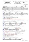 Đề kiểm tra HK 2 môn Hoá học 10 năm 2017 - THPT Lương Ngọc Quyến - Mã đề 357