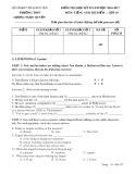 Đề kiểm tra HK 2 môn tiếng Anh thí điểm 10 năm 2017 - THPT Lương Ngọc Quyến - Mã đề 357