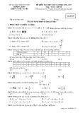 Đề kiểm tra HK 2 môn Toán 10 năm 2017 - THPT Lương Ngọc Quyến - Mã đề 357