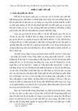 Báo cáo: Đánh giá tổng hợp hiện trạng khu đất khu vực Nam thị trấn Nông Cống, huyện Nông Cống, tỉnh Thanh Hóa