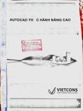 Giáo trình Autocad nâng cao - Nguyễn Đình Nghĩa