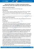 Giải bài Điều kiện phát sinh, phát triển của sâu, bệnh hại cây trồng SGK Công nghệ 10