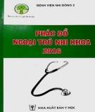 Ebook Phác đồ ngoại trú nhi khoa - 2016: Phần 1