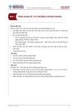 Bài giảng Bài 1: Tổng quan về thị trường chứng khoán