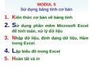 Ôn tập Tin học cơ bản: Modul 5 - ThS. Võ Minh Đức