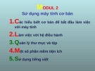 Ôn tập Tin học cơ bản: Modul 2 - ThS. Võ Minh Đức