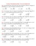 37 Bài tập Thể tích khối chóp (Phần 1)