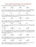 24 Bài tập Tổng hợp về Thể tích khối lăng trụ