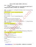 81 Câu trắc nghiệm Giải tích 12 -  Chương 1