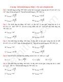 27 Bài tập Thể tích khối lăng trụ (Phần 1)