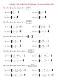 53 Bài tập trắc nghiệm Hàm số lượng giác