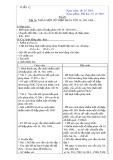 Giáo án lớp 5: Tuần 12