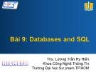 Bài giảng Lập trình Android - Bài 9: Databases and SQL